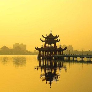 china_yellow_china_pagoda