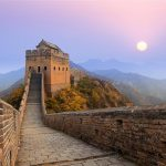 Asia travel china great wall of xian