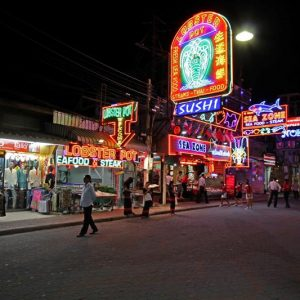 Walking Street Pattaya Thailand