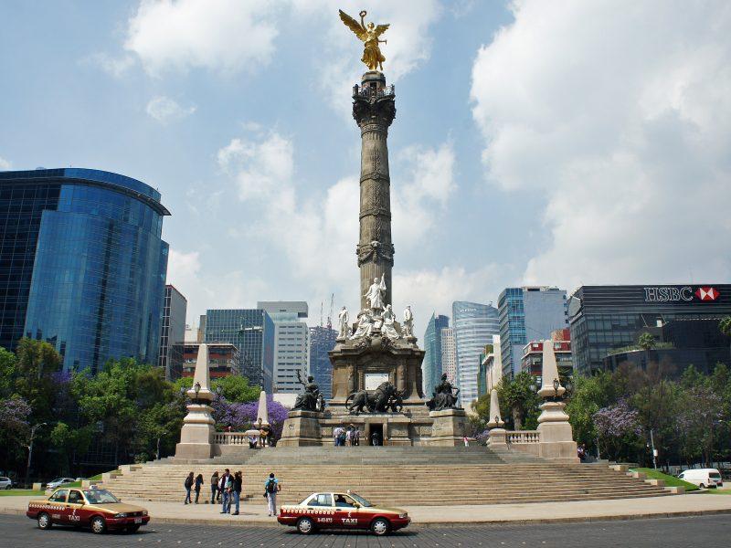 Monumento de la Independencia (El Angel), Mexico DF