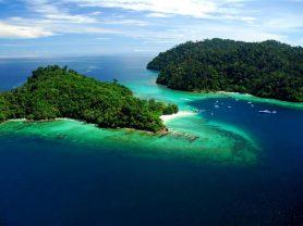 Ατομικό Ταξίδι ινδονησία> Βόρνεο