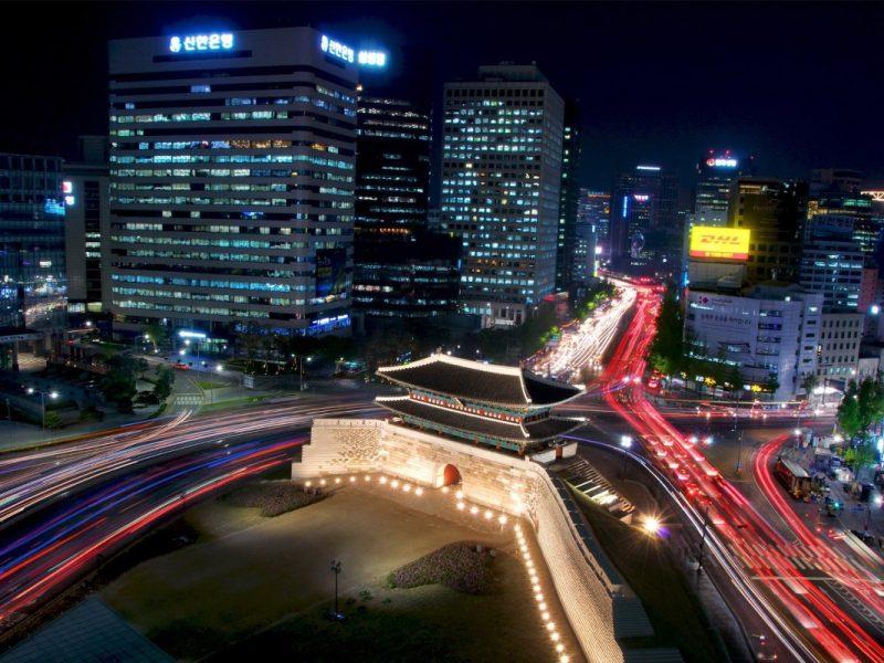 Σεούλ Νότια Κορέα ατομικό oργανωμένο ταξίδι